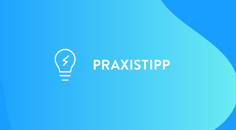 Praxistipp Webinar